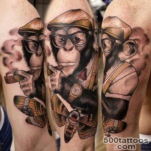 tattoos of monkeys Archives   The Lads RoomThe Lads Room_41