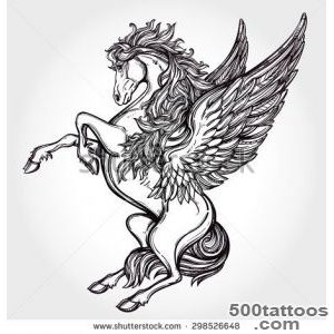 Horse Tattoo Stock Photos, Royalty Free Images amp Vectors _3