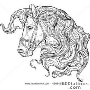 Horse Tattoo Stock Photos, Royalty Free Images amp Vectors _35