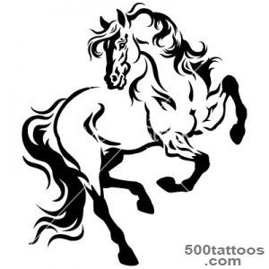 Horse tattoo vector by insima   Image #1661765   VectorStock_5