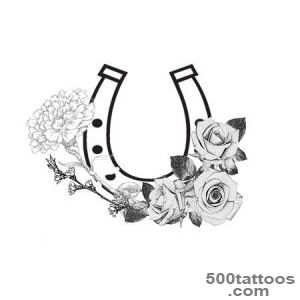 6 Horse And Horseshoe Tattoo Ideas_8