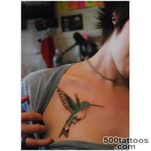 35 Stunning Hummingbird Tattoo Ideas_44