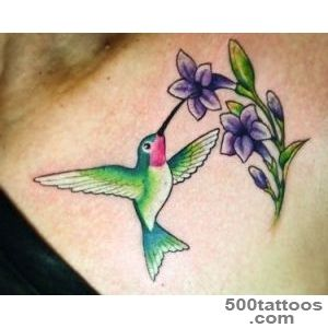 Hummingbird Tattoo Images amp Designs_40