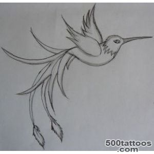 Small Hummingbird Tattoo With Flower   Tattoes Idea 2015  2016_46
