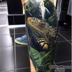 iguana, tatoo, and tatua? by Lilith317  We Heart It_32