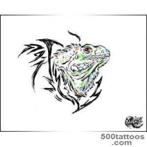 Iguana tattoo by ALart90 on DeviantArt_23
