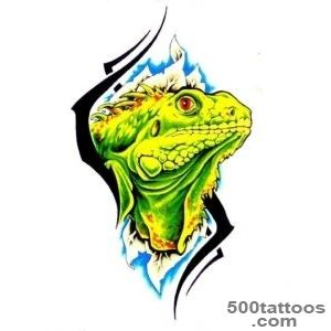Pin Iguana Vermelha Tattoo Pictures  Quote for Every Needs_22