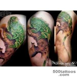 photo iguana tattoo ( 18 ) 1000 new ideas tatuirovki_49