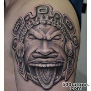 Amazing Inca Warrior Tattoo_41
