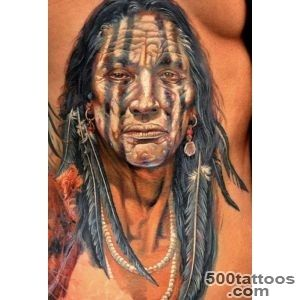 American Indian Tattoo   Tattoo by Dmitriy Samohin   26 im only _6