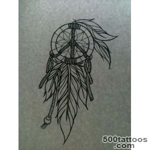 Dreamcatcher Tattoos For Girls  Pin Dream Catcher Feather Tattoo _45