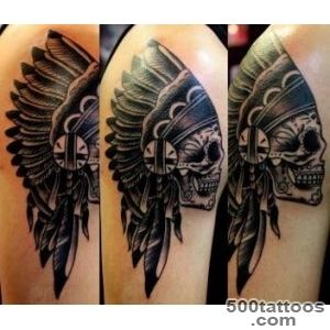 Indian Skull Tattoos and Their Meanings  Tattoo Ideas Gallery _19