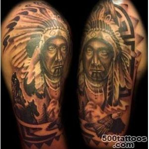 Native American tattoos and their tribal meanings_20