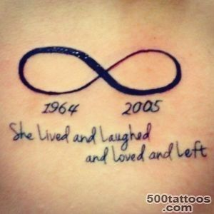 Infinity sign tattoos design, idea, image