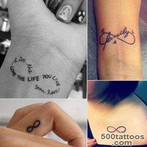 Infinity Sign Tattoo Ideas  POPSUGAR Beauty_28