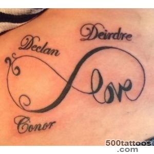 45 Cool Infinity Tattoo Ideas   IdeaStand_9