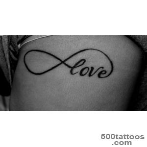 Infinity Symbol Tattoos, Designs And Ideas_37