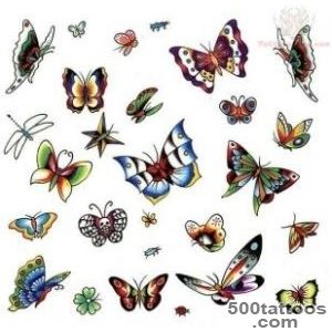 Insects tattoo design, idea, image