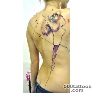 Abstract Insects Tattoo On Back  Tattooshuntcom_49