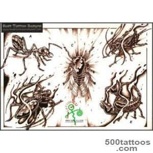 Insect Tattoos, Designs And Ideas  Page 43_40