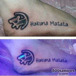 17+ Awesome Glow In The Dark Tattoos Visible Under Black Light _38