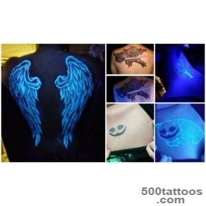 Invisible Tattoo you only see when illuminated by black light_2