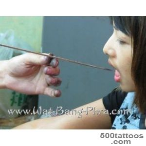 Magic Woman Tattoos  Traditional Sak Yant Tatoos Thailand Wat _40