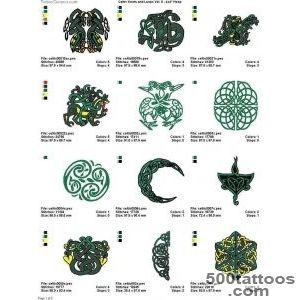 Pin Colorful Irish Celtic Tattoo Designs Real Photo Pictures _14