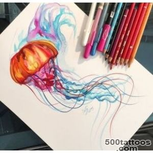 1000+ ideas about Jellyfish Tattoo on Pinterest  Tattoos and body _21