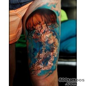 Jellyfish Tattoo Ideas amp Meaning • AwesomeJellycom_3
