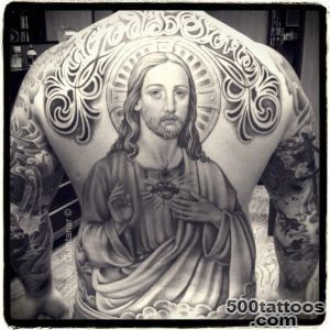 20+ Best Jesus Tattoo Images And Designs_31
