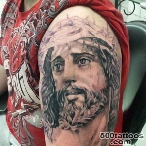 30+ Spiritual Jesus Christ Tattoo designs and meaning   Find your Way_5