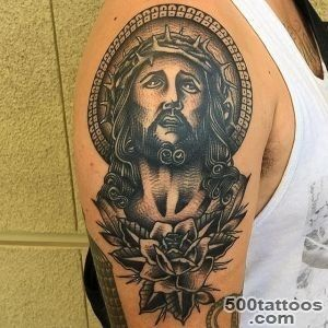 30+ Spiritual Jesus Christ Tattoo designs and meaning   Find your Way_9