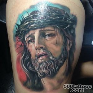 30+ Spiritual Jesus Christ Tattoo designs and meaning   Find your Way_15