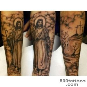 30+ Spiritual Jesus Christ Tattoo designs and meaning   Find your Way_47