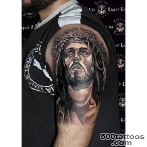 jesus tattoo,wwwlegendtattoogr,jesus of nazaret tattoo,religious _38
