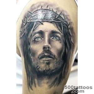 Wonderful portrait of jesus tattoo   Tattooimagesbiz_1