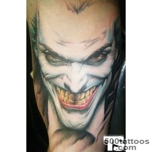 20 Coolest Comic Book Inspired Tattoos   19 The Joker   Tattoo by _12