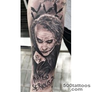 55+ Cool Joker Tattoos_1