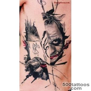 55+ Cool Joker Tattoos_27