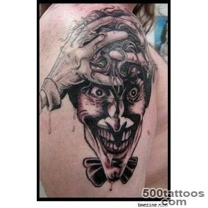 Great Comic Book Tattoos  Jokers, Comic Book Tattoo and Joker Tattoos_20