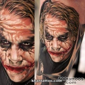Heath Ledger Joker tattoo   YouTube_2