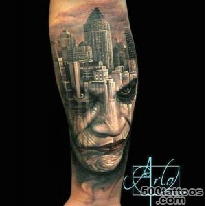 Just Updated! Our 30 Most Favorite Joker Tattoos of All Time (so far)_24