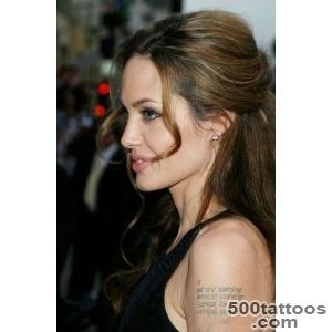 10 Hot Angelina Jolie Tattoos Images  Images Next_36