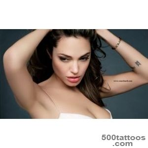 Angelina Jolie Sexy Tattoos and their Meanings_18