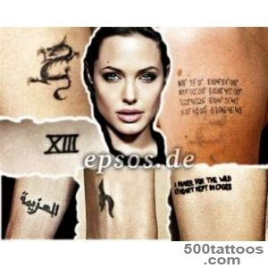 angelina jolie tattoos meaning  Celebrity Tattoos Female _27