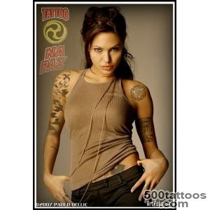 Best Angelina Jolie Tattoo List Ink And Tattoos Nice Wallpaper _31