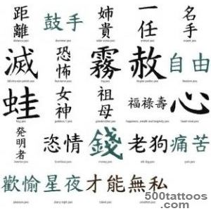 Kanji Tattoos, Designs And Ideas  Page 7_5