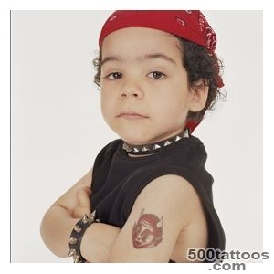 Kids tattoos design, idea, image