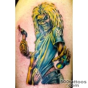 daily photo arts iron maiden tattoos_28